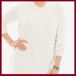 Sweaters - Scoop-neck Sweater